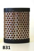 Air filter cartridge - Short Type - Lambretta S1 + S2