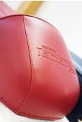 RLC Fastback RED sports seat for Lambretta S1 + S2 + S3 + DL + Serveta