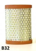 Air filter cartridge Lambretta S2 + S3 + TV3 + Special + SX + DL/GP