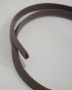 Grey rubber trim for legshield toolbox for Lambretta LD150