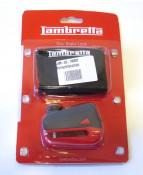 Rinforced steel front disc brake lock for Lambretta V-Special 50 - 125 - 200