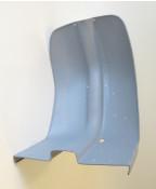 Metal legshields for Lambretta S3 LI + TV (i.e. for chrome ring models)