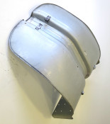 One piece very high quality metal legshield for Lambretta S2 models