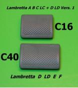 Kickstart rubber bump Lambretta D125 + LD125 Vers.2 + 3 + E + F