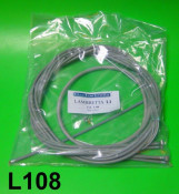 Complete grey  inner + outer control cables set