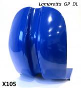 HIGH QUALITY super-smooth fibreglass legshields for Lambretta GP DL