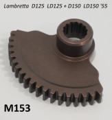 Kickstart gear for Lambretta D125 + LD125 + D150 / LD150 '55