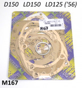 Very high quality complete engine gasket set