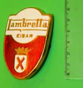 Front shield badge Lambretta LD Spagna 'Eibar'
