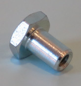 Special nut to mount rear light unit for Lambretta GP DL + Electronic 1971 (late production)
