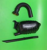 Innocenti replica Exhaust silencer + U bend + tailpipe  Lambretta TV1 175cc