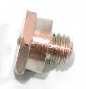 M6 thread 'Tecalemit' grease nipple (14mm spanner head) for Lambretta D + LD models