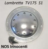 Original NOS Innocenti outer metal carburettor disc cover for Lambretta TV175 S1