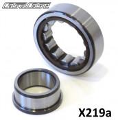 Special flywheel side crankshaft bearing for CasaCase engine casing