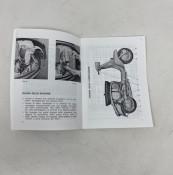 Owners manual Lambretta DL150