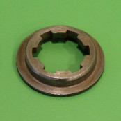 Top splined cap washer for front sprocket inner sleeve Lambretta S1 LI