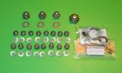 42 pieces rim nuts + washers kit  Lambretta S2 + S3 + TV3 + SX pre '68