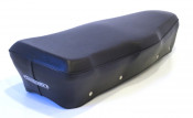 High quality Italian made black dual seat cover for Silme seat frames for Lambretta GP / DL