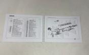 Italian parts catalogue D150 LD150 LD Avv. LD125 '56.