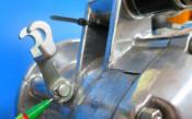 Clutch + rear brake lever shim Lambretta S1 + S2 + S3 + SX + DL / GP