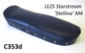 Very high quality blue dual seat cover Lambretta J125 Starstream M4