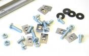 Kit listelli pedana in alluminio per Lambretta S1 + S2 150cc + TV2