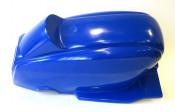 Fibreglass one-piece lightweight rear bodywork section for Lambretta
