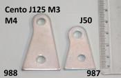 Exhaust bracket Lambretta Cento + J125 M3 + Starstream M4