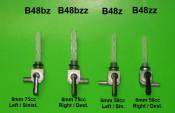 6mm petrol tap - Right exit - Lambretta Luna + Lui 50cc