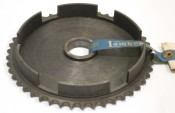 Original NOS 47T clutch bell sprocket for crownwheel for Lambretta Lui