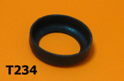 Lower steering race rubber cover