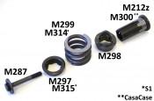 Special bolt for front sprocket assembl Lambretta S1 + S2 + TV2 + S3 + Special + SX + TV3 + GP + Serveta