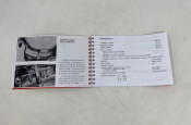 Owners manual Lambretta SX150