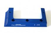 'U' shaped cylinder cowling support section (anodised BLUE) for CasaCase flywheel flange