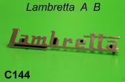 Lambretta badge for rear butty box