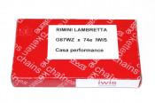 VERY high quality Iwis 74 link drive chain for Lambretta Lui Vega Cometa + J