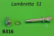 Vite + dado fissaggio manubrio Lambretta S1