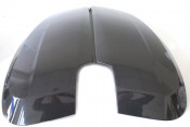 Pair of carbon fibre sidepanels (left + right hand) for Lambretta V-Special 50 - 125 - 200