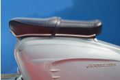Blue Pegasus 'flatbase' seat for Lambretta S1 + S2 (LOW fronted version) + Series 3