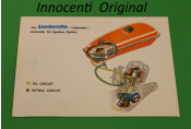 Original Innocenti publicity for the Lubematic system fitted to Cometa (Vega) 75SL models