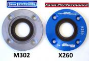 Steel drive side oilseal plate for crankshaft