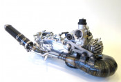 Complete Casa Performance SS225 5 speed engine Turismo Veloce for Lambretta S1 + S2 + TV2 + S3 +TV3 + Special + SX + DL + Serveta