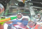 6mm engine sidecasing stud (zinc plated)