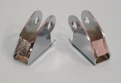 Pair of hinges for rear butty box for Lambretta A + B