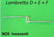Original NOS Innocenti closure mechanism for rear toolbox lock for Lambretta D + E + F