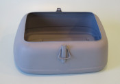 Rear butty / toolbox for Lambretta D125 + D150 models.