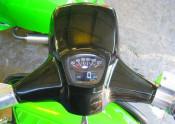 Multi function rev counter / speedo (BLACK face) Lambretta S3 GP DL Serveta