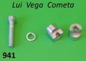 Morsetto completo per manubrio per Lambretta Lui Vega Cometa