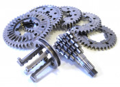 Complete 'Cyclone 5 Pro' gearbox kit for Lambretta S1 LI + S2 + S3 + GP / DL + Serveta