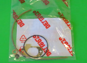Complete carburettor gasket set (12mm + 16mm +19mm) for Lambretta J